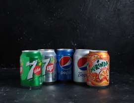 Choice of Soft Drinks