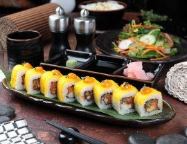 Mango Twist Roll