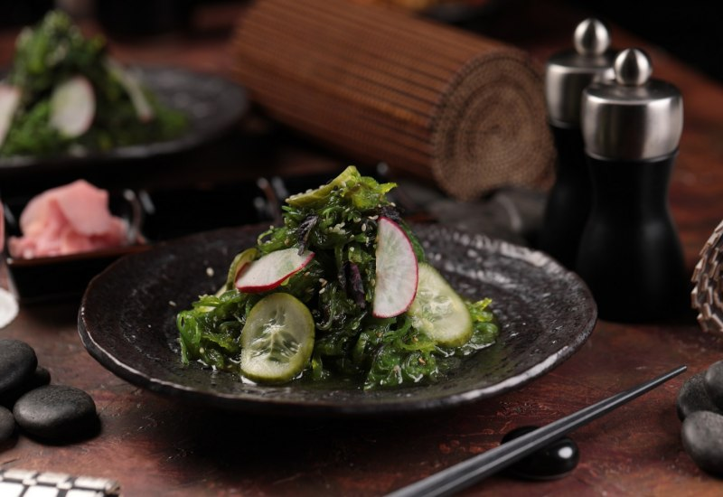 Cucumber and Seaweed Salad 1