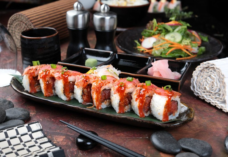 Spicy Tuna Roll 1